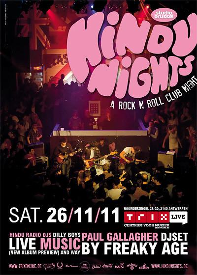 Hindu Nights - Sat 26-11-11, Centrum voor muziek