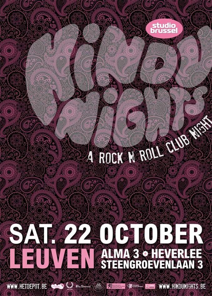 Hindu Nights - Sat 22-10-11, Het Depot