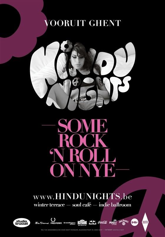 Hindu Nights NYE - Wed 31-12-14, Kunstencentrum Vooruit