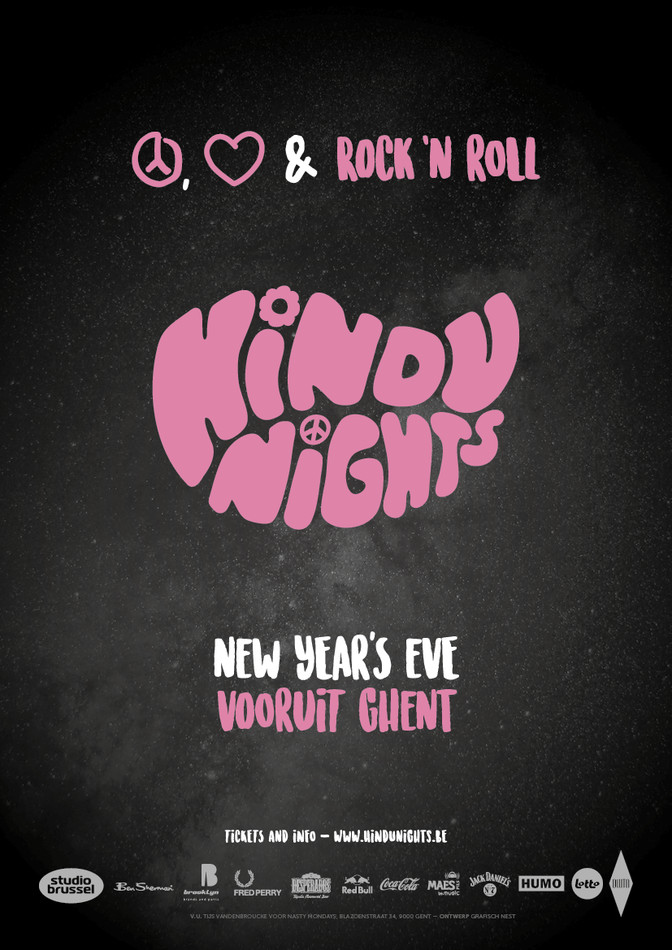 Hindu Nights New Year's Eve - Sat 31-12-16, Kunstencentrum Vooruit