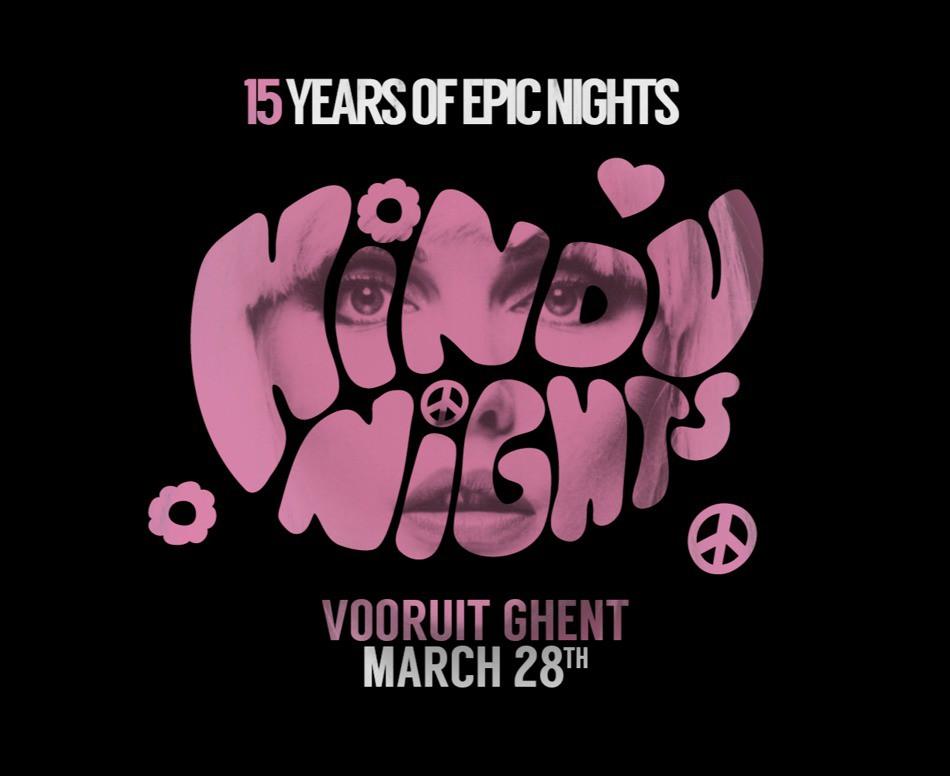 HiNDu NiGHTS - 15 Years - Sat 28-03-20, Kunstencentrum Vooruit